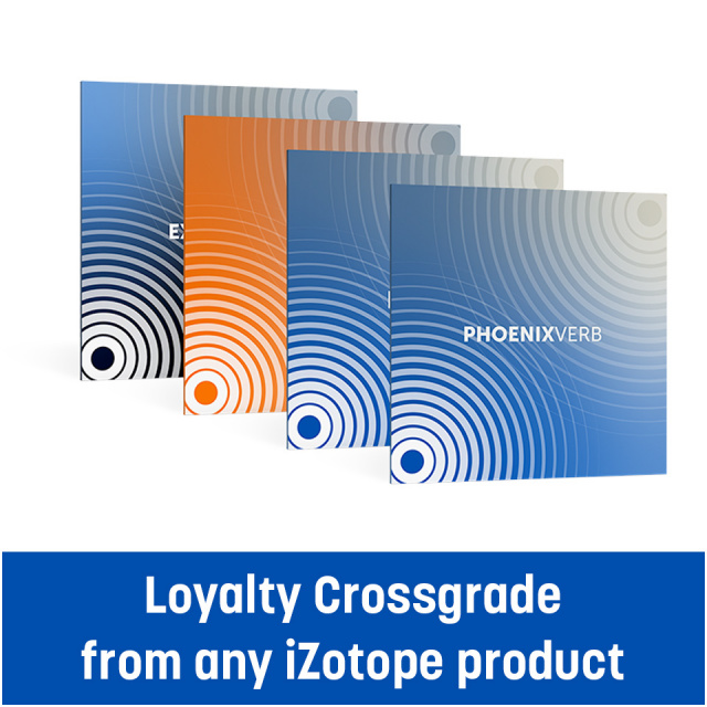 EXPONENTIAL AUDIO/Stereo Reverb Bundle - Loyalty crossgrade from any iZotope product【オンライン納品】