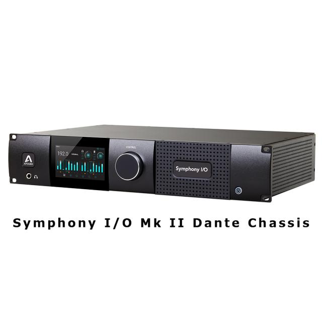 APOGEE/Symphony I/O Mk II Dante Chassis