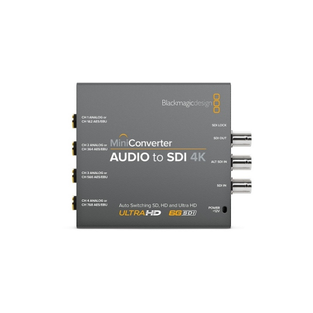 Blackmagic Design/Mini Converter - Audio to SDI 4K