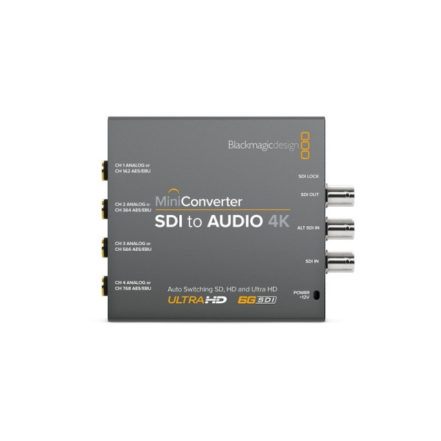 Blackmagic Design/Mini Converter - SDI to Audio 4K