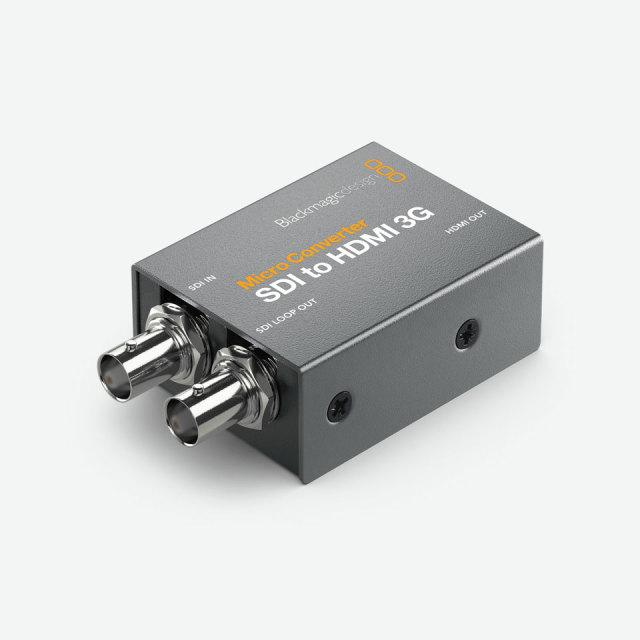 Blackmagic Design/Micro Converter SDI to HDMI 3G PSU【在庫あり】