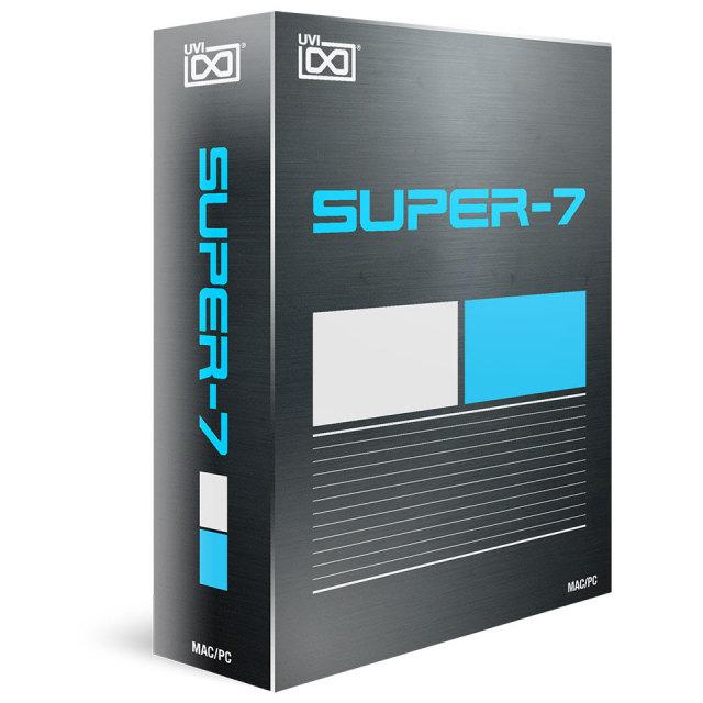 UVI/Super 7【オンライン納品】【~5/2 期間限定特価キャンペーン】