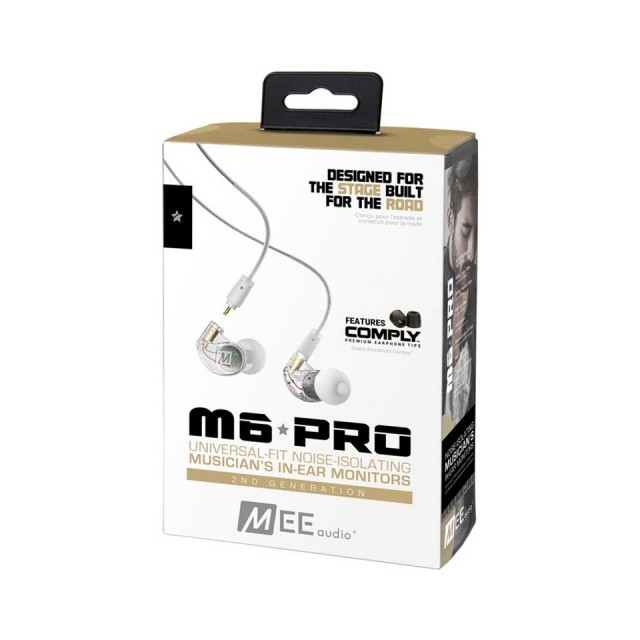 MEE Audio/M6 PRO 2ND GENERATION Clear【在庫あり】