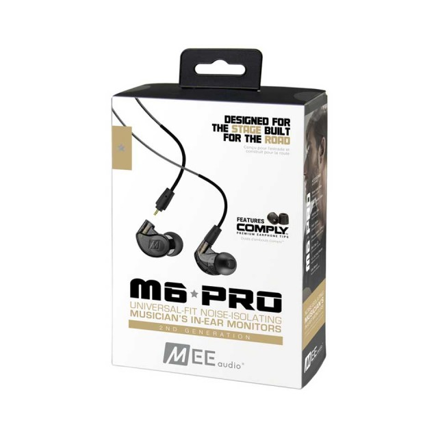 MEE Audio/M6 PRO 2ND GENERATION Black【在庫あり】