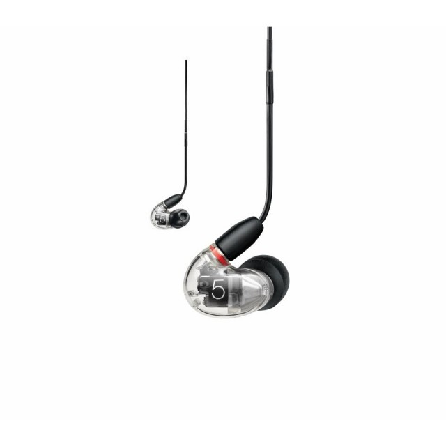 SHURE/AONIC 5 クリアー【SE53BACL+UNI-A】