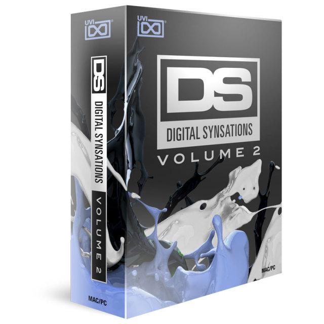 UVI/Digital Synsations Vol. 2【イントロプライスキャンペーン】【オンライン納品】【在庫あり】