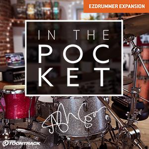 TOONTRACK/EZX - IN THE POCKET【オンライン納品】