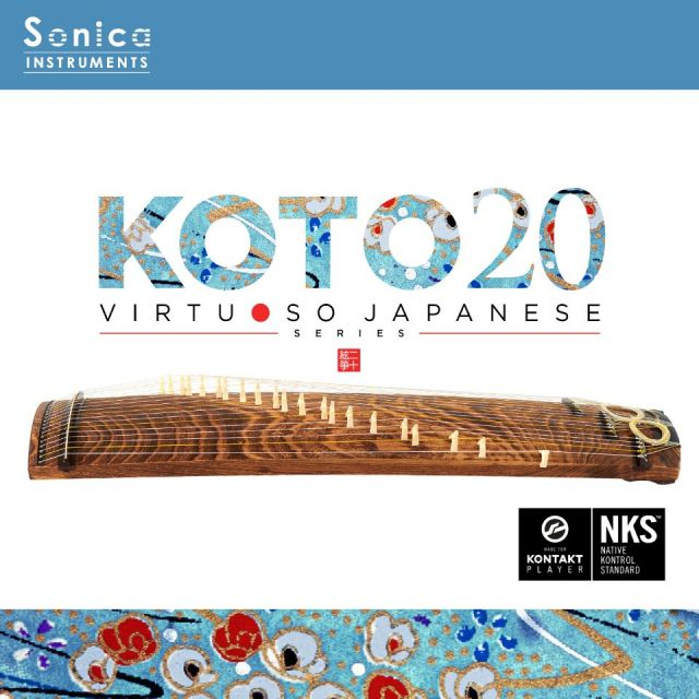 SONICA INSTRUMENTS/KOTO 20 Virtuoso Japanese Series【オンライン納品】【~5/31 期間限定特価キャンペーン】