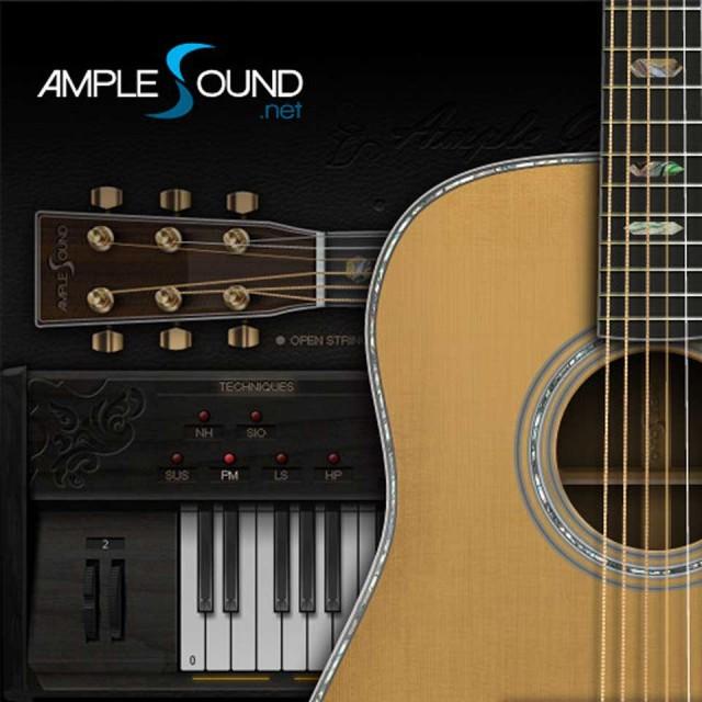 AMPLE SOUND/AMPLE GUITAR M II【数量限定キャンペーン】【オンライン納品】【在庫あり】
