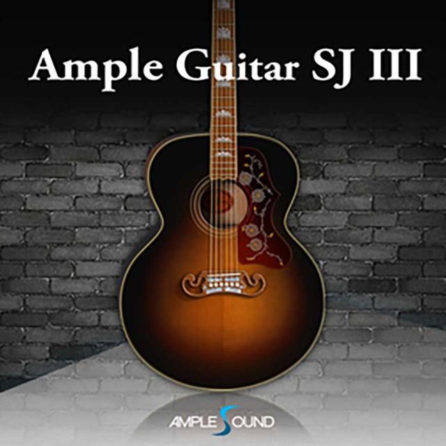 AMPLE SOUND/AMPLE GUITAR SJ III【オンライン納品】【在庫あり】