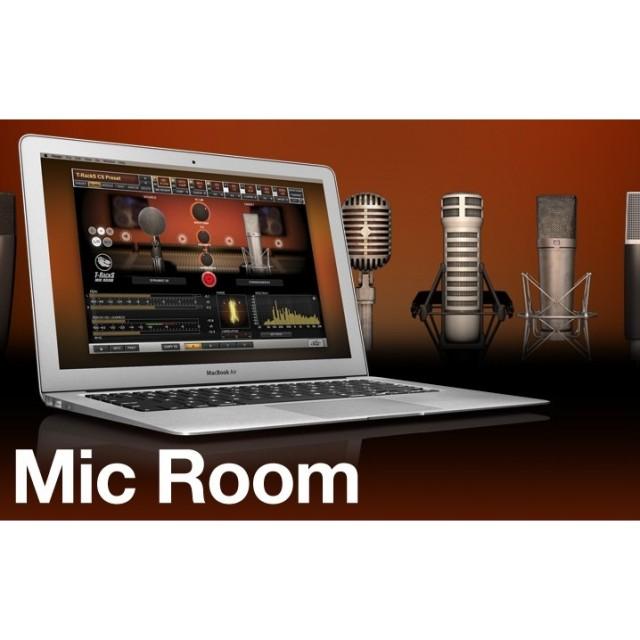 IK Multimedia/T-RackS Mic Room【オンライン納品】【~5/25 期間限定特価キャンペーン】