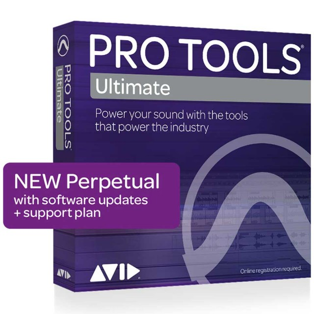 Avid/Pro Tools | Ultimate Perpetual License NEW【在庫あり】【オンライン納品】