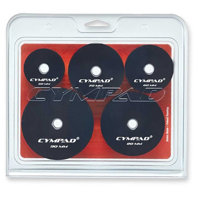 CYMPAD/モデレーター  スーパーセット  50mm, 60mm, 70mm, 80mm, 90mm 各2個入り N13803627