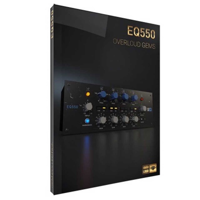OVERLOUD/EQ 550【オンライン納品】【在庫あり】