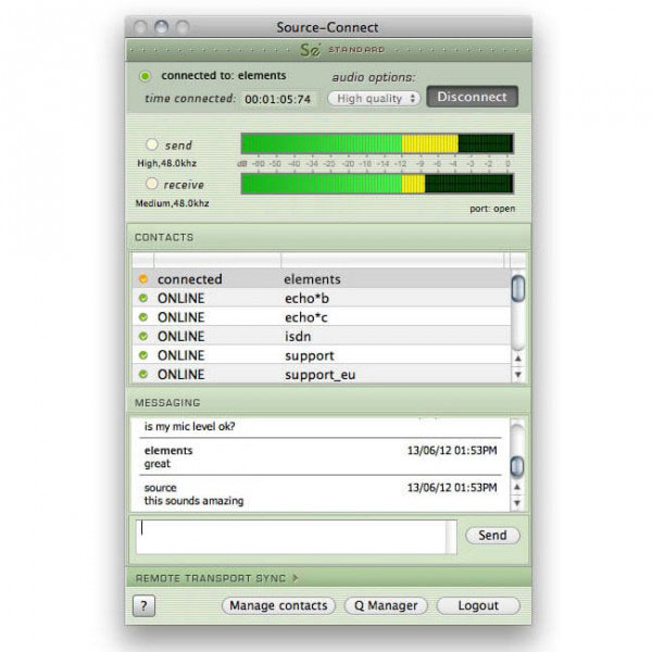 Source Elements/Source-Connect Standard 3.8 Windows【オンライン納品】