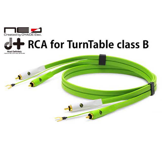 OYAIDE/d+ RCA for TurnTable classB 1.0m