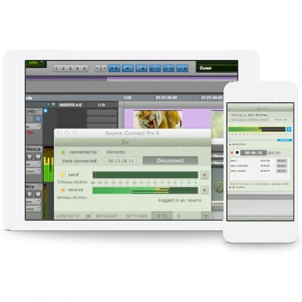 Source Elements/Source-Connect Pro to Pro X (Extended) OSX X【オンライン納品】