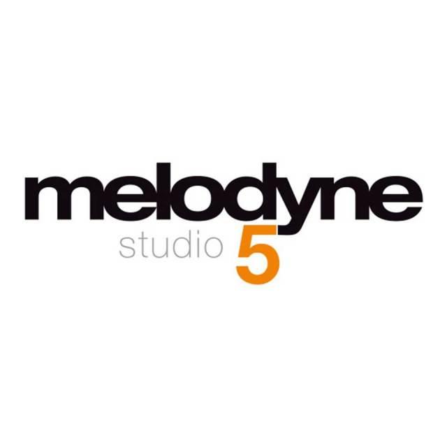 Celemony Software/Melodyne 5 Studio【ダウンロード版】【オンライン納品】