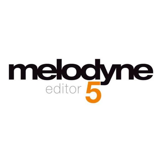 Celemony Software/Melodyne 5 Editor【ダウンロード版】【オンライン納品】