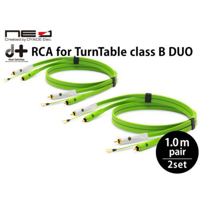 OYAIDE/d+ RCA for TurnTable classB DUO