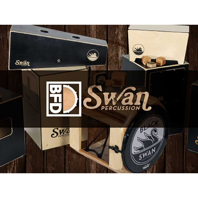 FXPansion/BFD3/2 Expansion KIT: Swan Percussion【オンライン納品】【BFD拡張】【在庫あり】