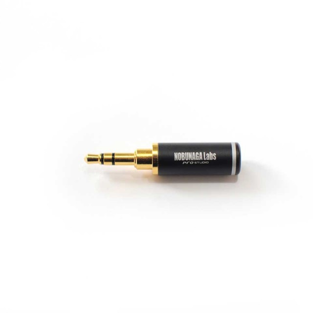 NOBUNAGA Labs/3.5mm pro studio【3.5mm 3極ステレオミニプラグ】