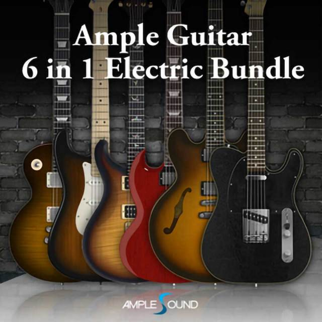 AMPLE SOUND/AMPLE GUITAR 6 IN 1 ELECTRIC BUNDLE【オンライン納品】【在庫あり】