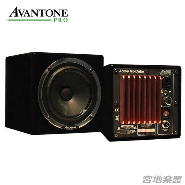 Avantone Pro/Active Mixcubes ブラック【ペア】