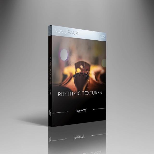 HEAVYOCITY/NOVO PACK 02 - RHYTHMIC TEXTURES【オンライン納品】