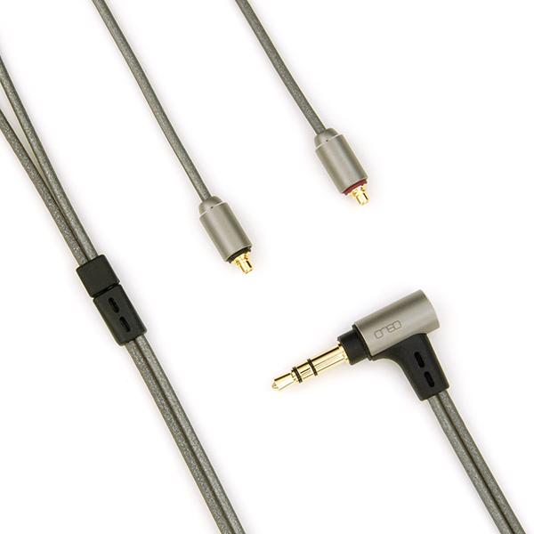 onso/iect_04 イヤホンケーブル MMCX-3.5mm 1.2m【IECT_04_UB3MR_120】
