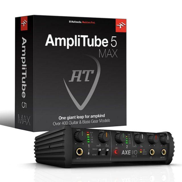 IK Multimedia/AXE I/O Solo + AmpliTube 5 Max Bundle【数量限定特価キャンペーン】【在庫あり】