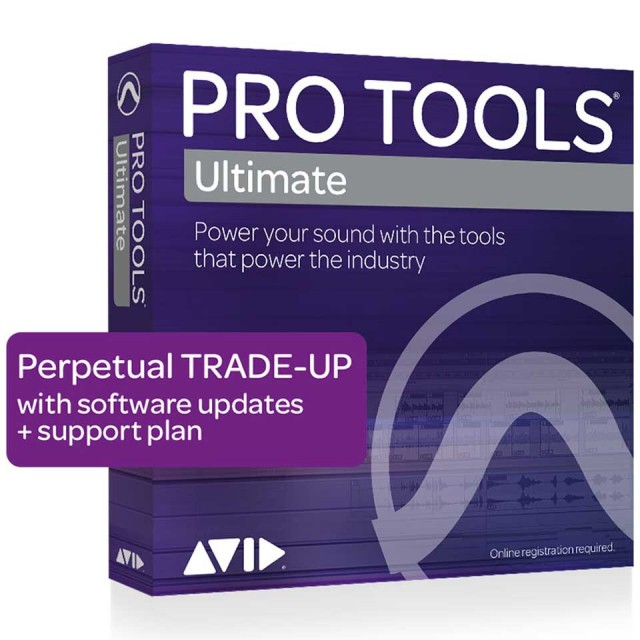 Avid/Pro Tools | Ultimate Perpetual License TRADE-UP from Pro Tools【オンライン納品】【在庫あり】
