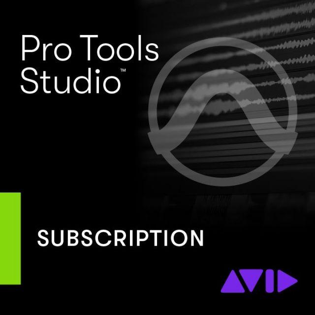 Avid/Pro Tools - Annual Subscription【新規 サブスクリプション】【オンライン納品】