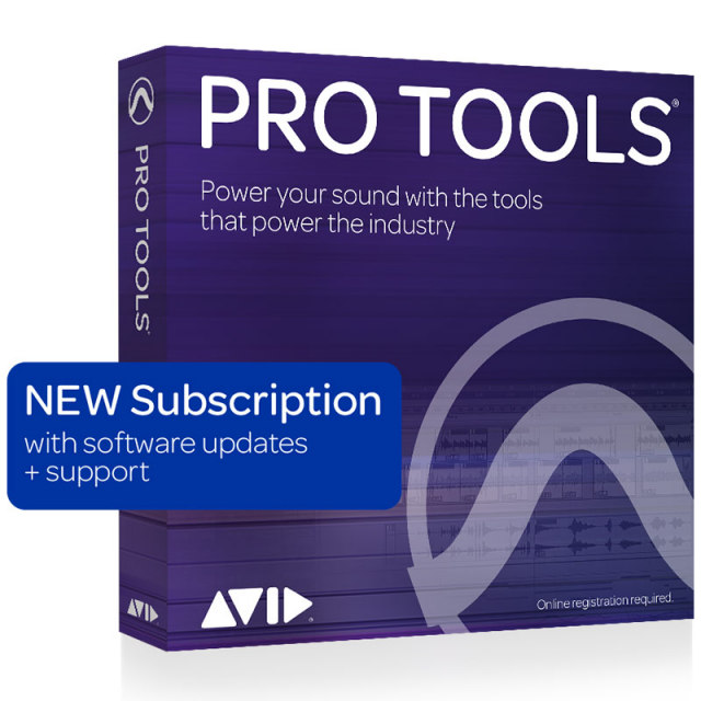 Avid/Pro Tools - Annual Subscription【新規 サブスクリプション】【オンライン納品】【6/30までの期間限定プロモーション】【在庫あり】