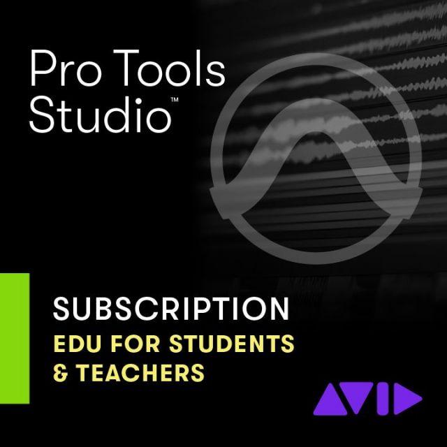 Avid/Pro Tools 1-Year Subscription【アカデミック】【新規 サブスクリプション】【オンライン納品】【6/30までの期間限定プロモーション】