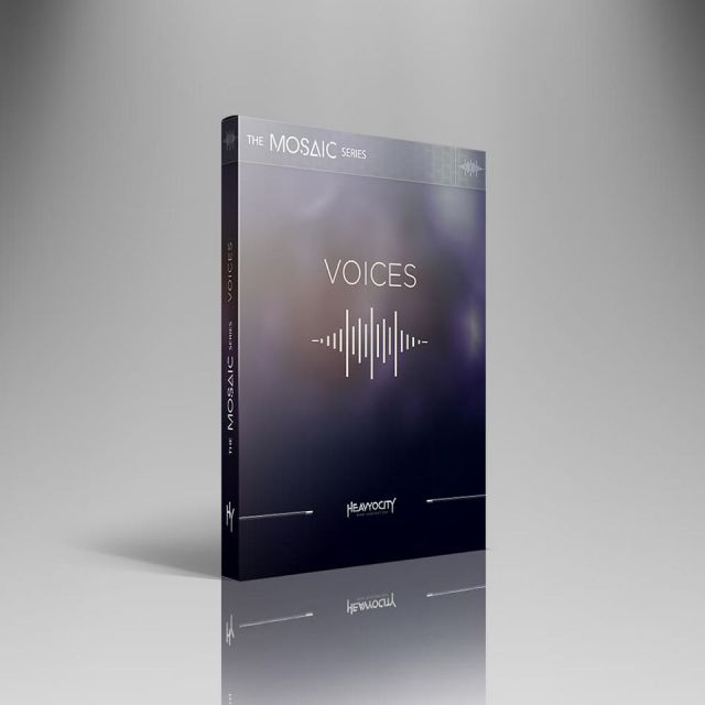 HEAVYOCITY/MOSAIC VOICES【期間限定特価キャンペーン】【オンライン納品】【在庫あり】