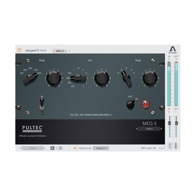 APOGEE/Apogee FX MEQ-5【オンライン納品】