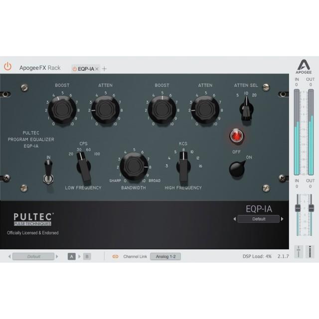 APOGEE/Apogee FX Pultec Bundle【オンライン納品】