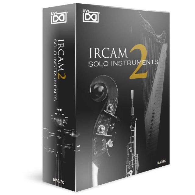 UVI/IRCAM Solo Instruments 2【~12/3 期間限定特価キャンペーン】【オンライン納品】