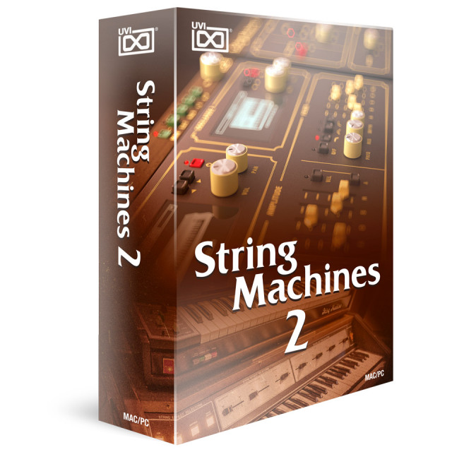 UVI/String Machines 2【オンライン納品】