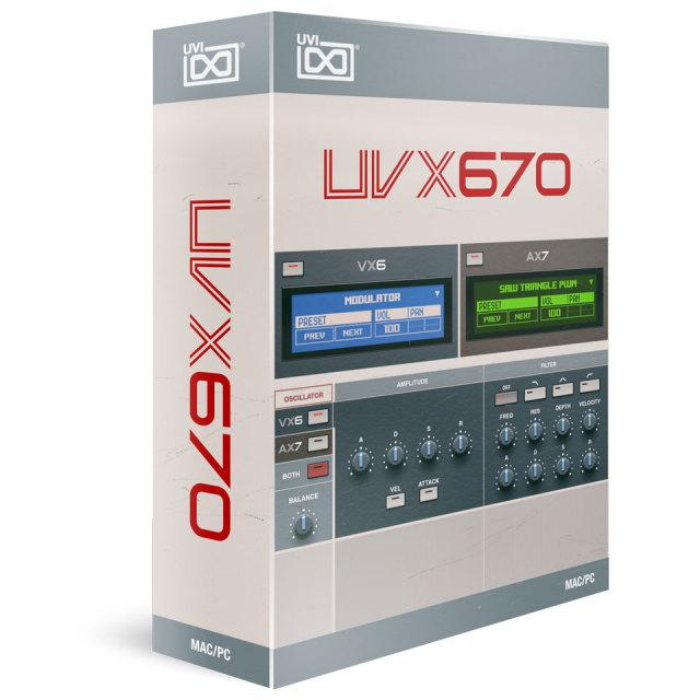 UVI/UVX670【オンライン納品】