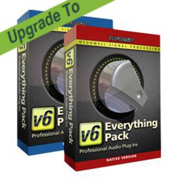 McDSP/Everything Pack HD v6.4 from Everything Pack HD v6.2【オンライン納品】