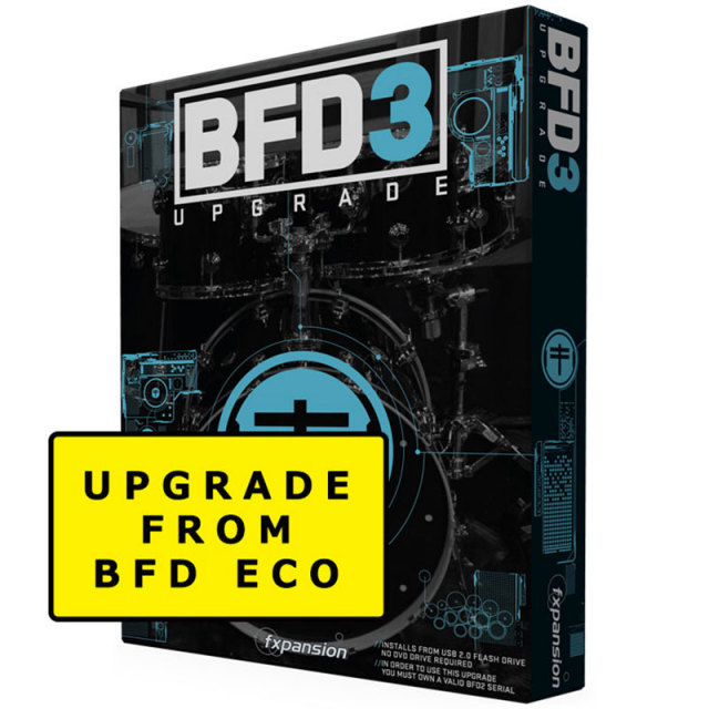 FXpansion/BFD3 Upgrade from BFD Eco【オンライン納品】