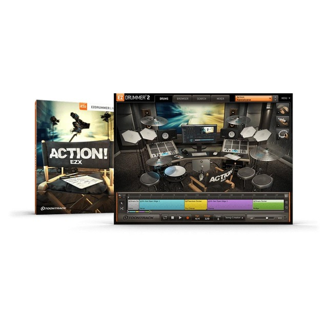 TOONTRACK/EZX - ACTION!【オンライン納品】【在庫あり】