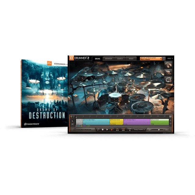 TOONTRACK/EZX - DRUMS OF DESTRUCTION