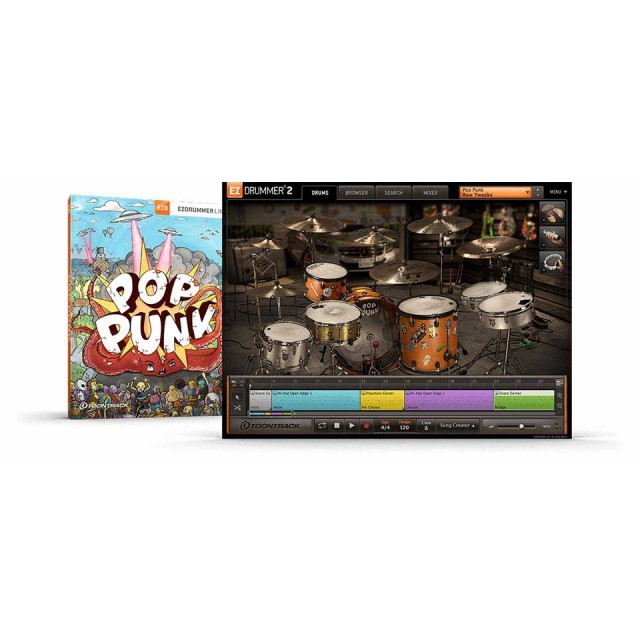 TOONTRACK/EZX - POP PUNK