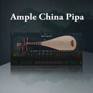 AMPLE SOUND/AMPLE CHINA PIPA【~8/29 期間限定特価キャンペーン】【オンライン納品】【在庫あり】