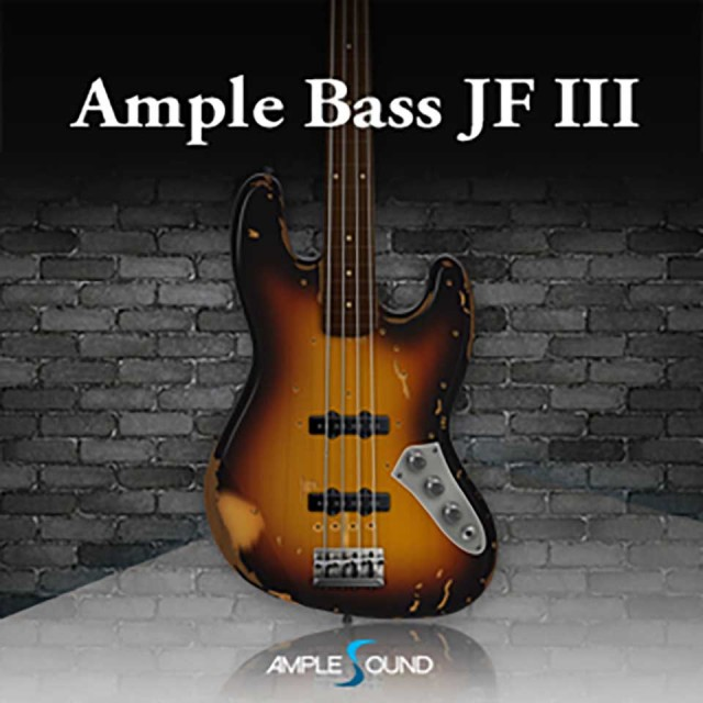 AMPLE SOUND/AMPLE BASS JF III【オンライン納品】【在庫あり】