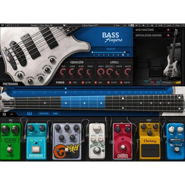 Waves/Bass Fingers【期間限定キャンペーン】【オンライン納品】【在庫あり】