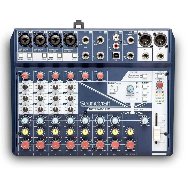 SOUNDCRAFT/Notepad-12FX